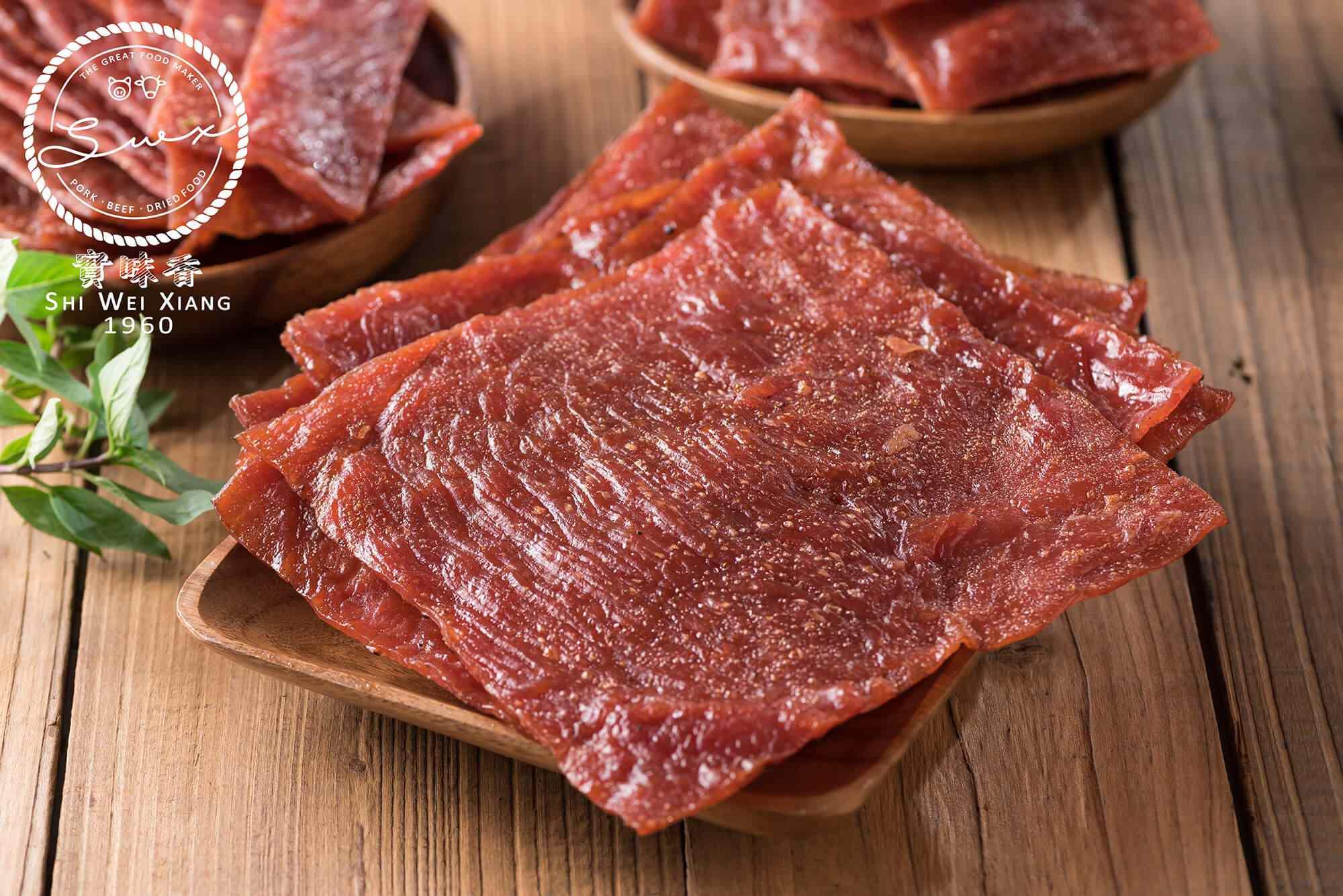 蜜汁豬肉乾(片)