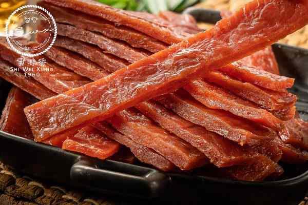 實味香 厚片豬肉乾